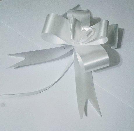 Laço Fácil 30Mm Liso Branco Unidade R.255109