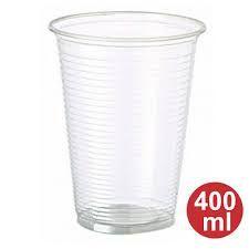 Copo Plástico Totalplast Abnt Transparente 400Ml Com 50