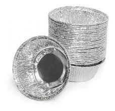Embalagem de Alumínio Takente para Empada (Cupcake) Pacote com 10