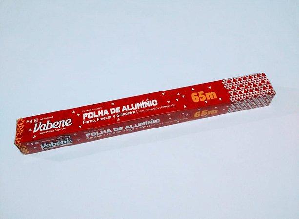 Folha de Alumínio Vabene 45 Cm x 65 Metros R.1614 Unidade