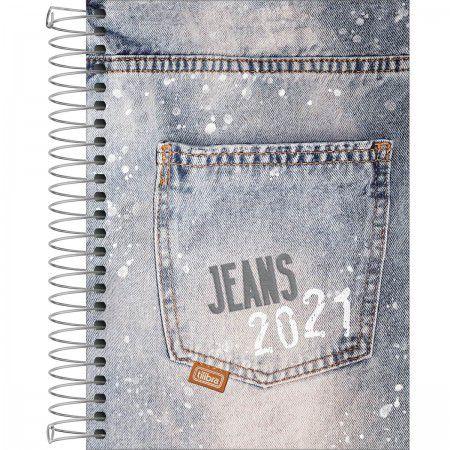 Agenda 2021 Tilibra Jeans Espiral M5 R.135704 E3 Unidade
