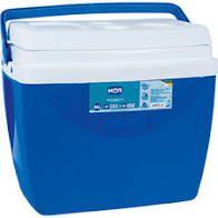 Caixa Térmica 34 Litros Mor Cor Azul r.6938 Unidade