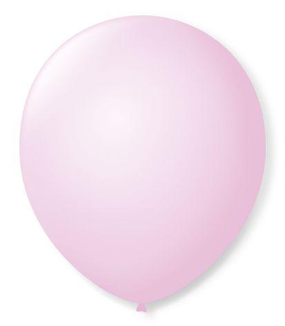 Bola Sao Roque Candy Colors N7 Rosa Com 25