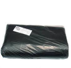 Saco para Lixo 200 Litros Reforçado 110 cm de Comprimento x 90 cm de Largura Cor Preta Fardo Com 100 Unidades
