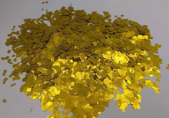 Confete Metalizado Para Balão ou Bola - Picados Dourado R.Af101-12