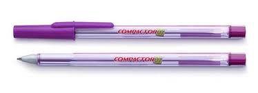 Caneta Compactor 07 Comum Violeta Unidade