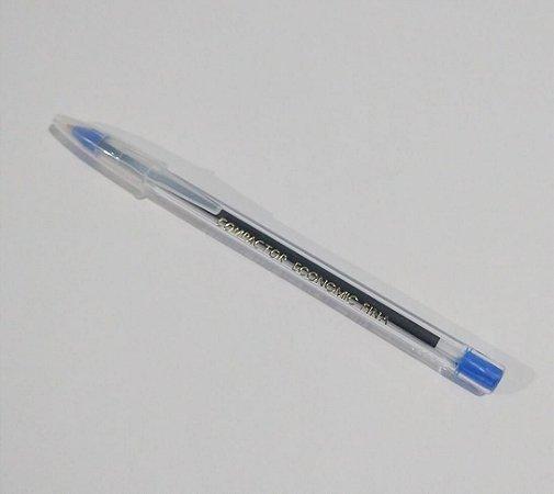 Caneta Esferográfica Compactor Economic Fina Cor Azul 1.0mm Unidade