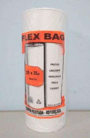 Saco Plástico Em Rolo 25cm x 35cm Em Média 570 Sacos