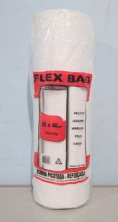 Saco Plástico Em Rolo 30cm x 40cm Em Média 490 Sacos