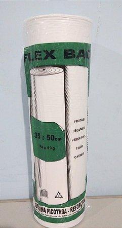 Saco Plástico Em Rolo 35cm x 50cm Em Média 430 Sacos