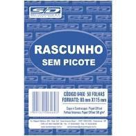 Bloco de Rascunho São Domingos 80mm x 115mm Com 100 Folhas R.6461 Unidade