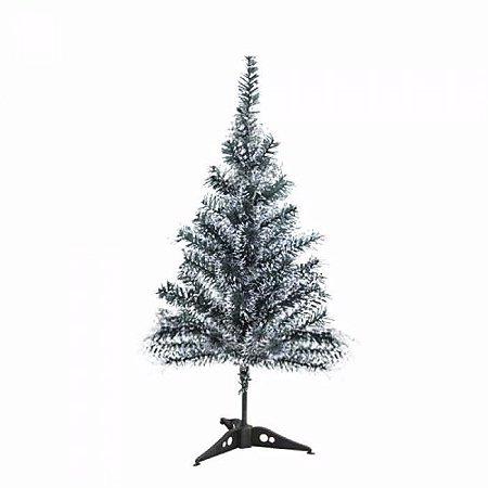 Árvore de Natal Luxo Nevada 60cm Com 50 Galhos Unidade