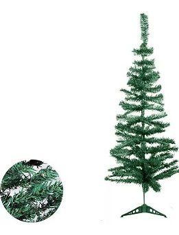 Árvore de Natal Cor Verde 90cm Com 70 Galhos Unidade