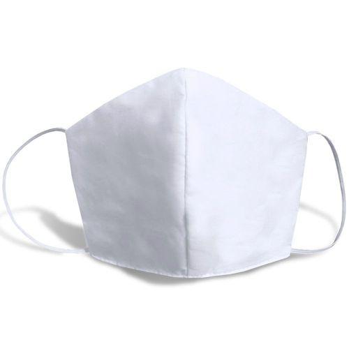 Máscara de Tecido Lavável Branca Unidade