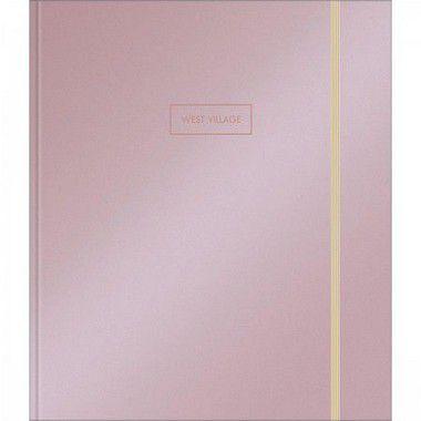 Caderno Argolado Cartonado Tilibra Colegial Com Elástico West Village Melalizado R.313394 Unidade