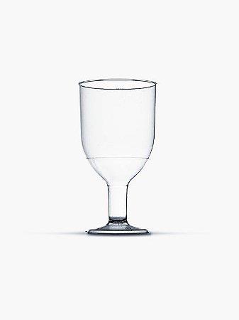 Taça Cristal Plastilânia Incolor Pit 055 55ml Pacote Com 10