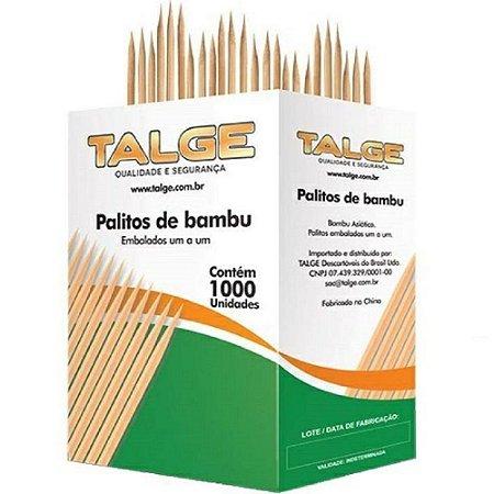 Palito Dental Talge Caixa Com 1000