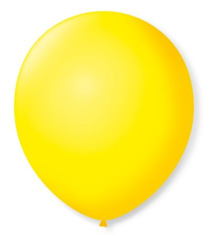 Bola Sao Roque Redondo Amarelo Citrino N8 Com 50