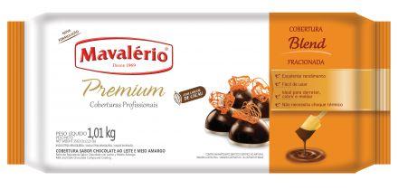 Cobertura Chocolate em Barra Premium Fracionada Mavalério Blend 1,01Kg R.09235 Unidade