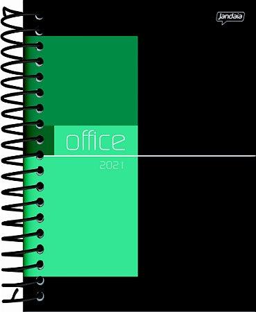 Agenda Espiral Diária Jandaia Office Collection 13cm x 17cm Com 352 Páginas R.54018 Unidade