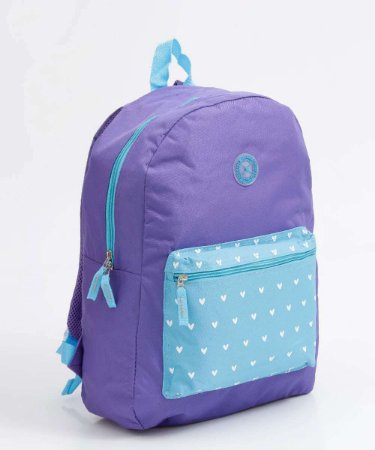 Mochila Clio Backpack For Girl Estampa Sortida 42cm x 30cm x 14cm R.MF3085 Unidade