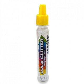 Cola Com Glitter Acrilex Cristal 15gr R.029050209 Unidade