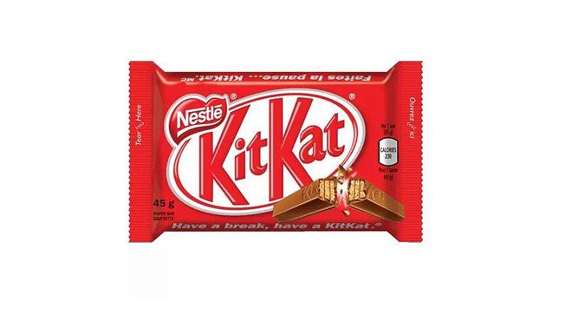 Wafer Chocolate Kit Kat Ao Leite Nestle 41,5 Gramas Unidade