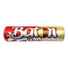 Baton Garoto Chocolate Duo Ao Leite + Branco 16 Gramas Unidade