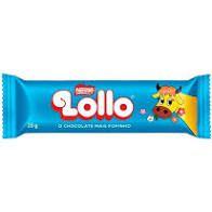 Tablete Nestlê Chocolate Recheio Leite Maltado Lollo 28 Gramas Unidade
