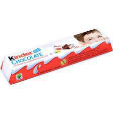 Kinder Chocolate Ao Leite 12,5 Gramas Unidade