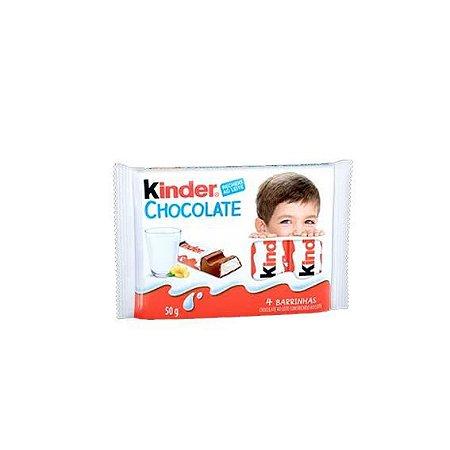Kinder Chocolate Ao Leite 50 Gramas Unidade