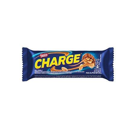 Tablete Chocolate Nestlê Charge Recheio Amendoim Caramelizado 40 Gramas Unidade