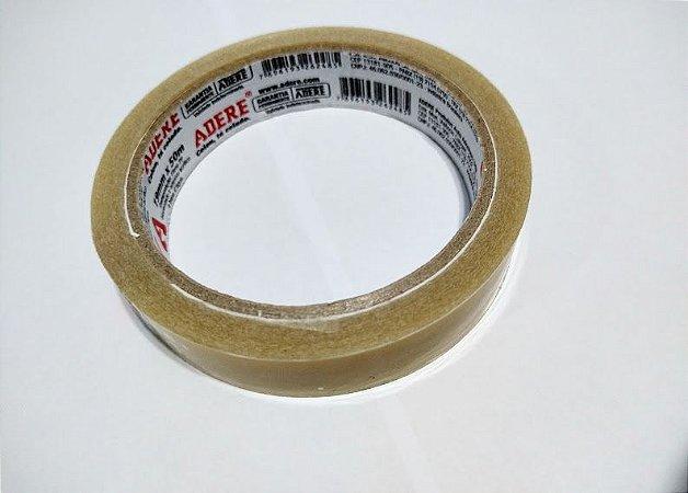 Fita Adesiva Durex Transparente Adere 19mm x 50 Metros R.731 Unidade