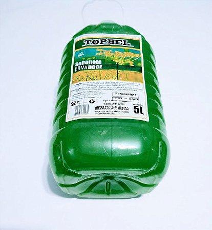 Sabonete Líquido TopBel Erva Doce Bombona Com 5 Litros Unidade