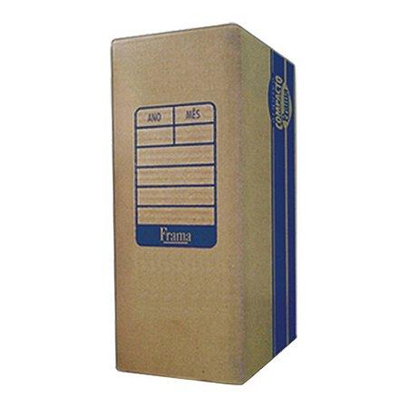 Caixa Arquivo Morto De Papelão 35,5cm x 25,5cm x 13,5cm Unidade