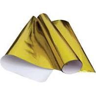 Cartolina Laminada Amarelo Ouro 48cm x 60cm Unidade