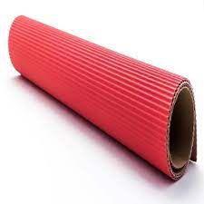 Papel Microondulado Vermelho 50cm x 80cm Unidade