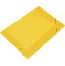Pasta Soft Com Aba Amarelo Transparente Tamanho Ofício 23cm x 33cm R.160206 Unidade