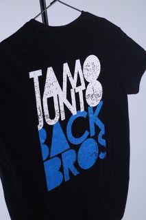 Camiseta TamoJunto Back Bros feminina Pequena
