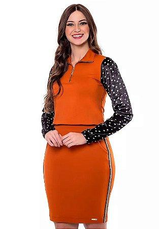 Vestido Caramelo Ana Beatriz 60656 Hapuk