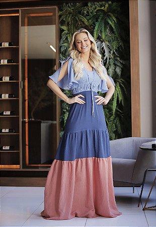 Vestido Fascinius Arruana 15032 - Moda Evangélica