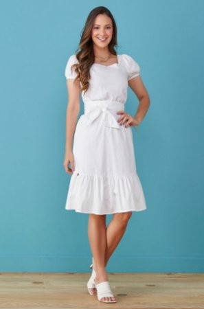 Vestido Branco Tata Martello Catrina 7217 - Vestido para o Reveillon