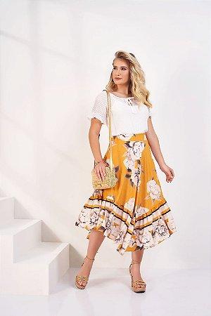 Conjunto Brenda Amarelo 15584 Fascíniu's