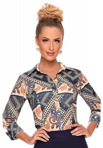 Camisa Estampada 4665 Zunna Ribeiro