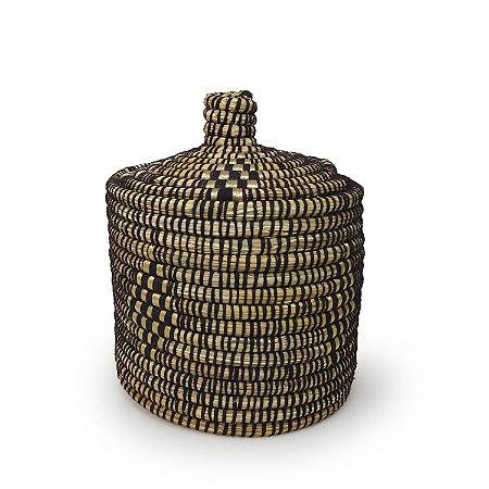 Cesta Ikram | Arte Tribo Berber | 28x22,5 cm