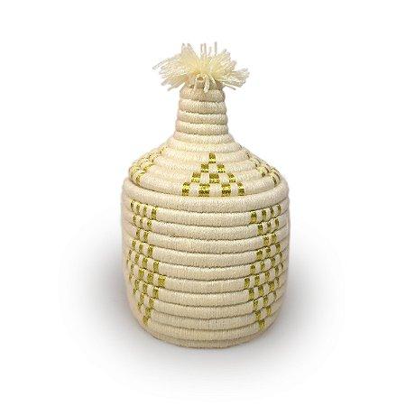 Cesta Almas   Arte Tribo Berber   27x17 cm
