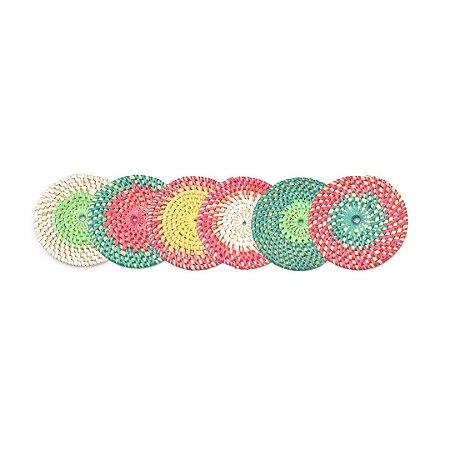 Conjunto Porta-copos Sari Colors