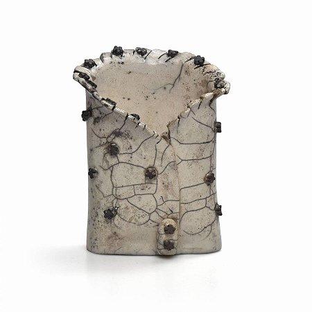 Vaso  Decorativo Raku