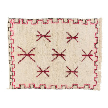 Tapete Moroccan Berber Pink Zig Zag 1,55 x 2,00m
