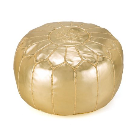 Capa de Pufe Moroccan Golden